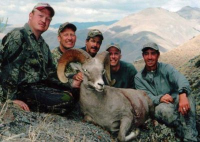 Bighorn Sheep taken in 37A