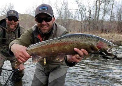 Spring Fly Fisherman